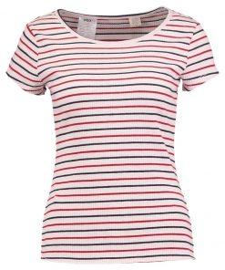 Levi's® VANESSA  Camiseta print chip marshmallow/red dahlia/navy blazer