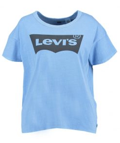 Levi's® THE AUTHENTIC Camiseta print light blue