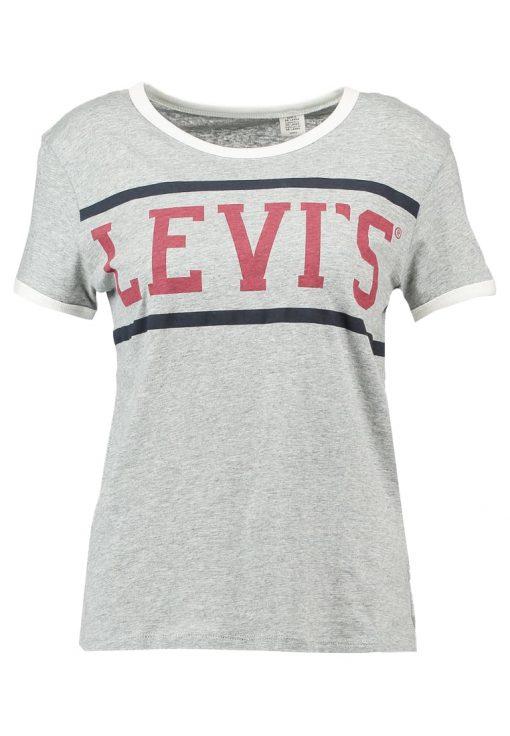 Levi's® PERFECT RINGER Camiseta print sport smokestack htr
