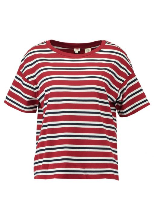Levi's® NEW SUTRO Camiseta print red dahlia/marshmalow/navy