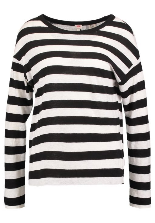 Levi's® MARA Camiseta manga larga hyde marshmallow/jet black