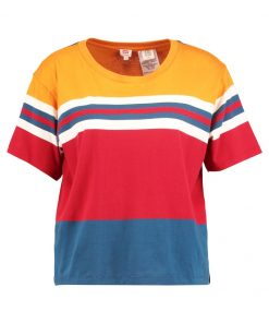 Levi's® Camiseta print jerrold golden oak/oatmeal/moroccan blue/red dahlia