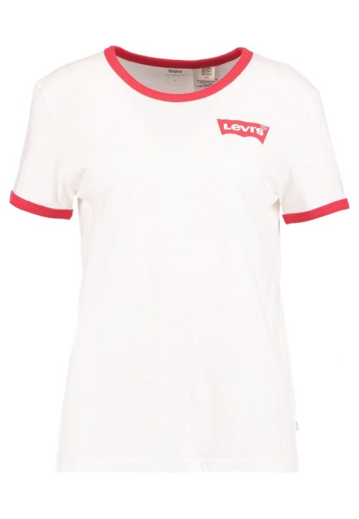 Levi's® PERFECT RINGER Camiseta print white/red
