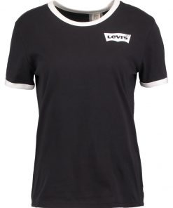 Levi's® PERFECT RINGER Camiseta print black/white