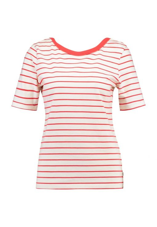 Levi's® BACK SCOOP TEE Camiseta print monday poinsettia/cloud dancer