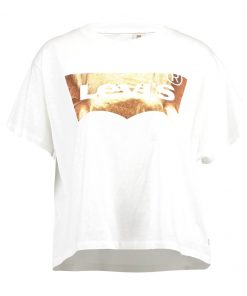 Levi's® GRAPHIC TEE Camiseta print copper/white