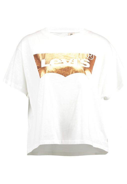 Levi's® GRAPHIC TEE Camiseta print copper/white