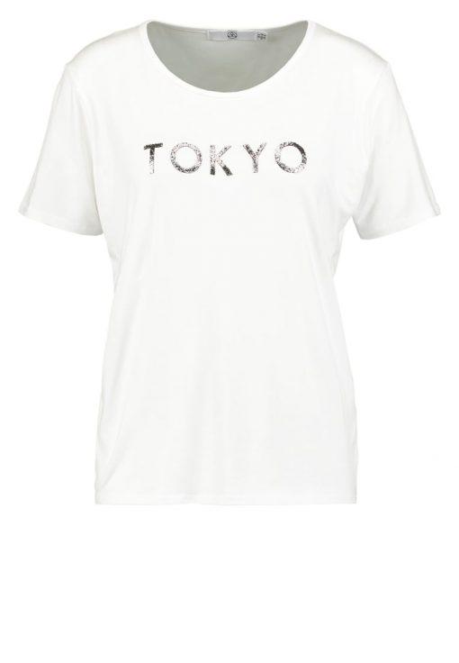 Missguided TOKYO Camiseta print white