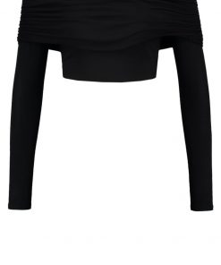 Missguided Camiseta manga larga black