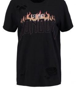 Missguided HONOUR Camiseta print black