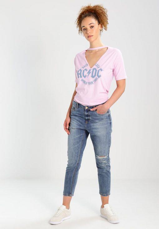 Missguided Camiseta print pink