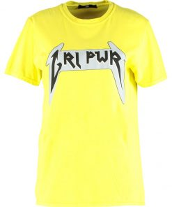 Missguided B&&B WITH SLOGAN Camiseta print yellow