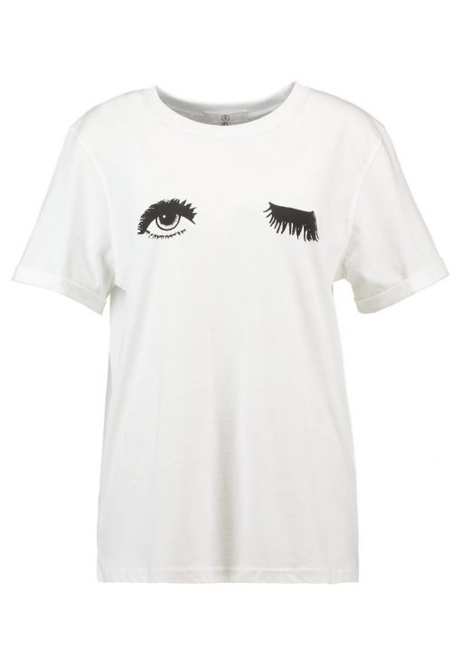 Missguided WINK Camiseta print white