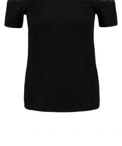 Morgan DUBER Camiseta print noir