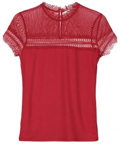Morgan Camiseta print red