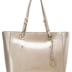 MICHAEL Michael Kors Bolso shopping pale gold