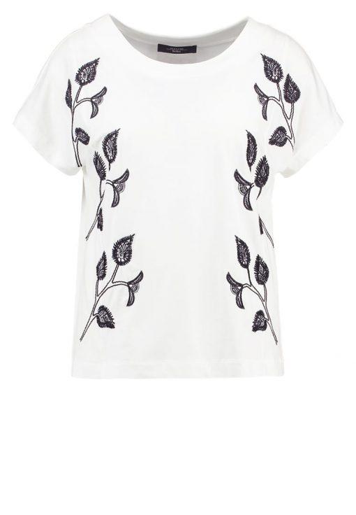WEEKEND MaxMara CAMPUS Camiseta print off white