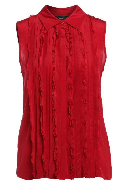 WEEKEND MaxMara FUNGO Camisa rubino