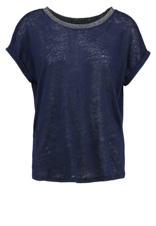 NAF NAF OMILLE  Camiseta básica bleu nuit