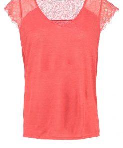 NAF NAF OVERLAND Camiseta básica flamingo