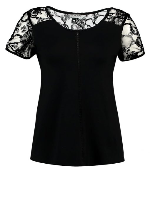 NAF NAF OBICHE Camiseta básica noir