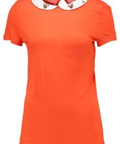 NAF NAF OJEWEL  Camiseta print orange tonic