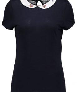 NAF NAF OJEWEL  Camiseta print bleu marine