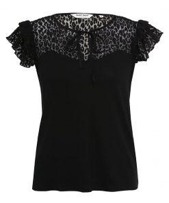 NAF NAF OPEAU Camiseta print noir