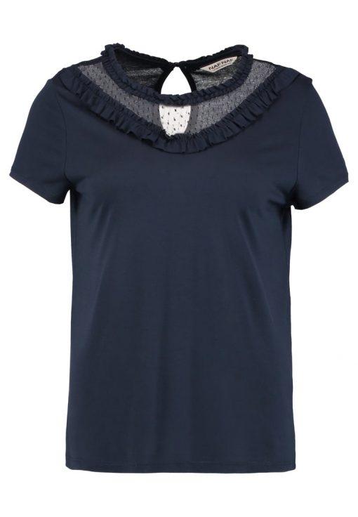 NAF NAF KIRI Camiseta print bleu marine