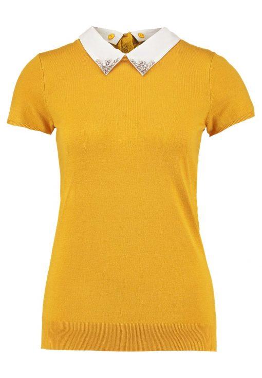 NAF NAF MARJORA Camiseta print moutarde