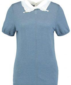 NAF NAF MARQUISE  Camiseta print bleu glacier