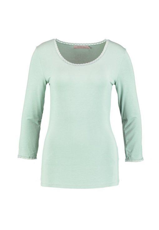 Noa Noa BASIC  Camiseta manga larga green millieu