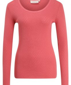Noa Noa BASIC NEW Camiseta manga larga garnet rose