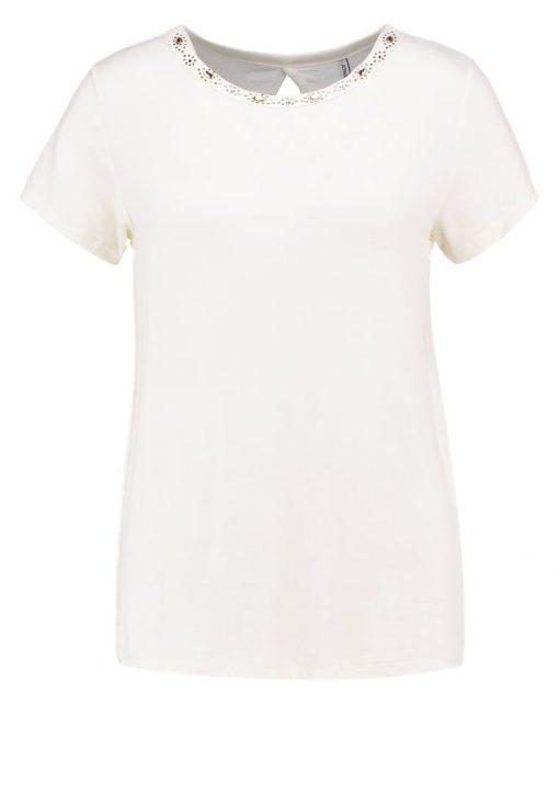 ONLY ONLCAROL Camiseta básica cloud dancer