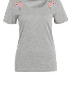 ONLY ONLSOFIE FLOWER  Camiseta print light grey melange