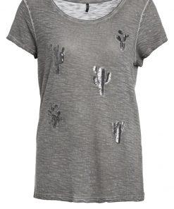 ONLY ONLVIGGO CACTUS Camiseta print smoked pearl