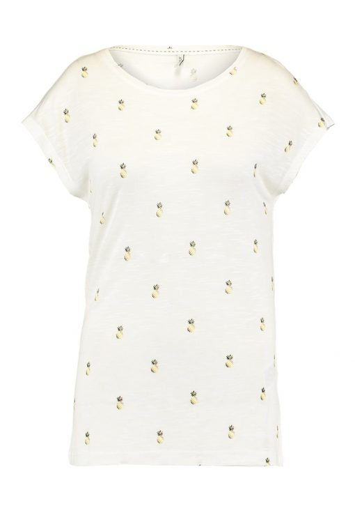 ONLY ONLSOPHIE BUTTERFLY Camiseta print cloud dancer