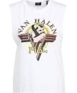 ONLY ONLVAN HALEN Camiseta print bright white