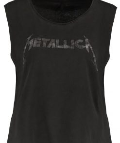 ONLY ONLROCK METALLICA Top black