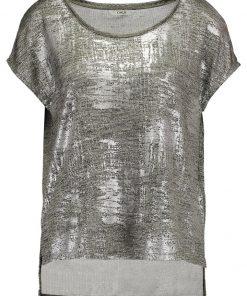 ONLY ONLPLEARL Camiseta print silver colour
