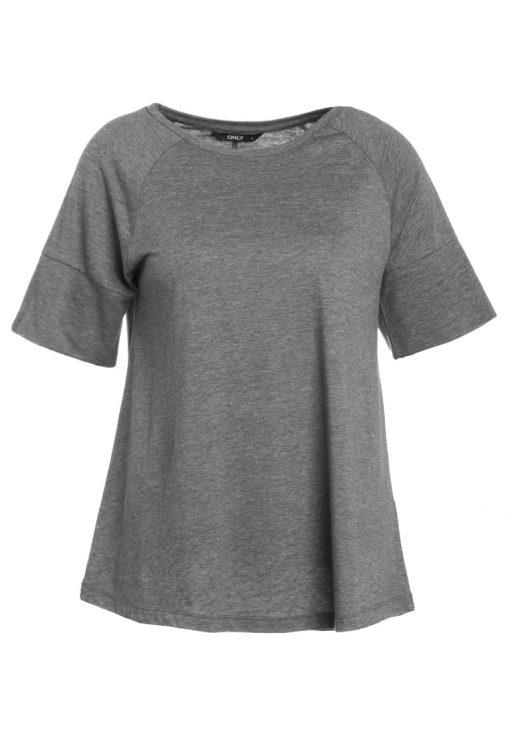 ONLY ONLPALLUW  Camiseta básica dark grey melange
