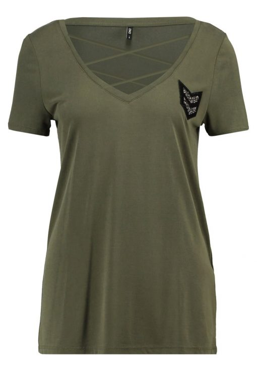 ONLY ONLMILI  Camiseta print grape leaf