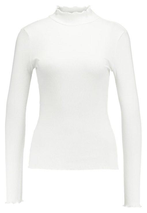 ONLY ONLELLA HIGHNECK Camiseta manga larga off white