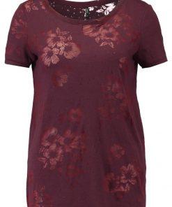 ONLY ONLNEW MIRA  Camiseta print port royale/burnout