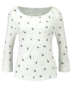 ONLY ONLJESS BIRDS BOX Camiseta manga larga cloud dancer