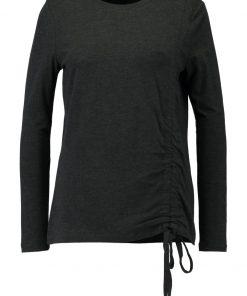 ONLY ONLSANDY DRAPING Camiseta manga larga dark grey melange