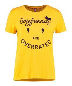 ONLY ONLMELONIE BOX  Camiseta print golden glow