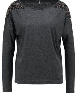 ONLY ONLMIRABELLA Camiseta manga larga dark grey melange