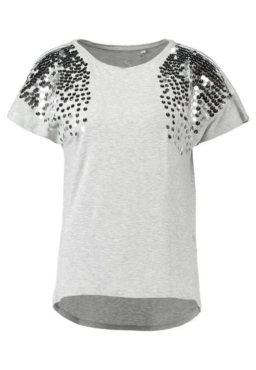 ONLY ONLDAIMI BOX  Camiseta print light grey