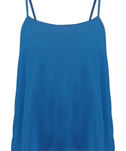 ONLY ONLNOVA Top moroccan blue